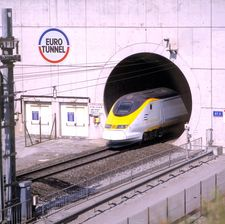 Eurostar services were affected by the recent Channel Tunnel fire