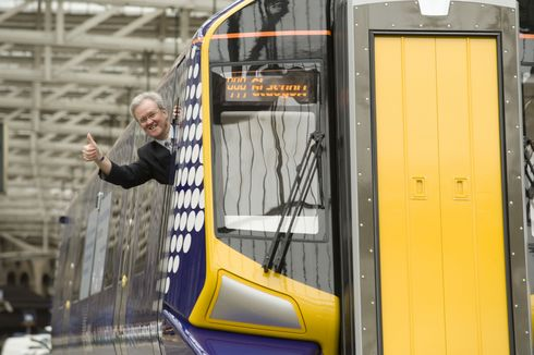 Mock-up of new ScotRail trains unveiled