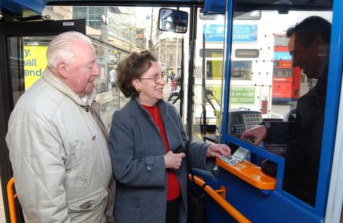 Minister tackled over £2m bus pass shortfall