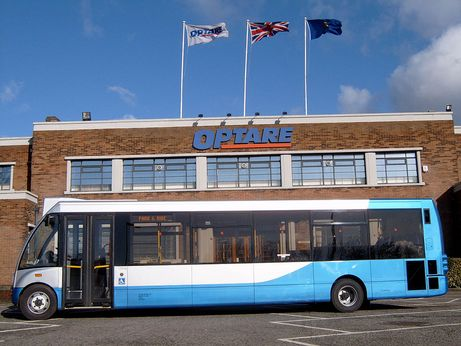 Mistral rights over Optare products come to end