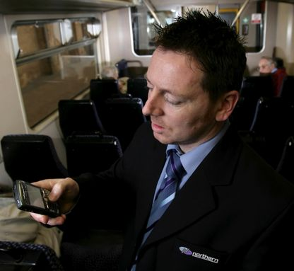 Blackberries for all Northern Rail conductors