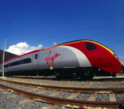 Virgin Trains driving airlines out of the skies