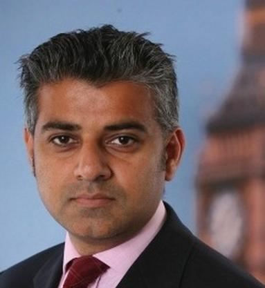Sadiq Khan Tweets about new transport minister role