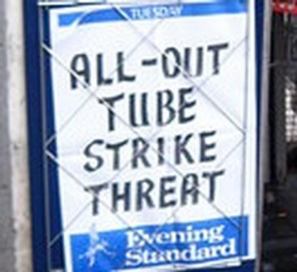 Talks aim to prevent tube strikes