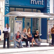 The waiting game: bus users in West Yorkshire may be spending more time at bus stops