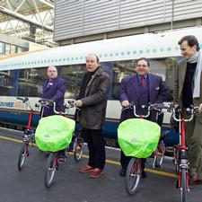 South West Trains has started a pilot scheme for folding bike hire