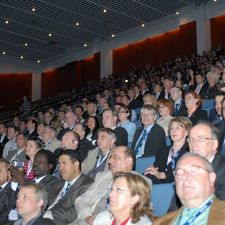 Some of the 2,000 delegates who attended the UITP World Congress opening ceremony