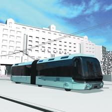 If approved by the government, trolleybuses could hit the street of Leeds in 2015