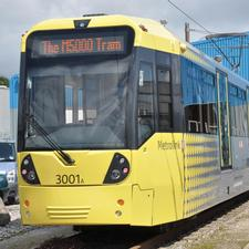 New tram is the first of 40 for Metrolink fleet in Manchester