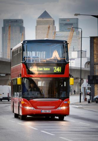 East London gains from FirstGroup in latest London bus tender results