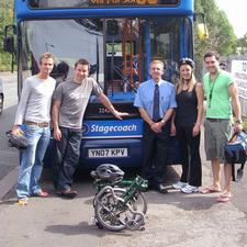 Stagecoach is encouraging owners of folding bikes to use its local bus services