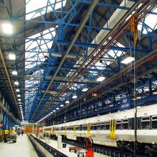 New lighting at Southeasterns Slade Green depot
