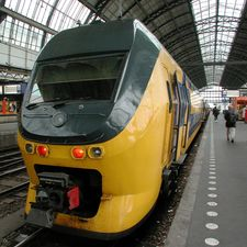 A double deck train in the Netherlands. NedRailways chief executive Anton Valk believes that drawing on NS's experience of running dense urban operations would enable NedRailways to make strong bids to operate crowded commuter operations in London and the south east