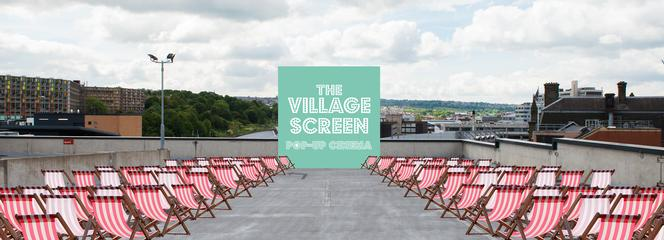 Q-Park hosts rooftop cinema in Sheffield