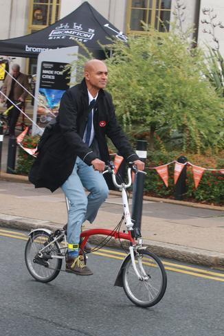 "Ashok Sinha: ""People making essential journeys by car will experience delays. Whilst I genuinely feel for them, people with particular mobility needs will gain from a long-term switch from cars to cycling and walking"