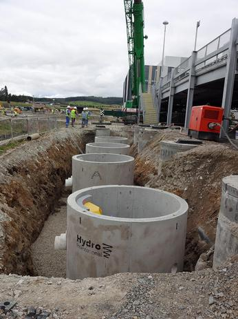 Aberdeen business park gets sustainable urban drainage system