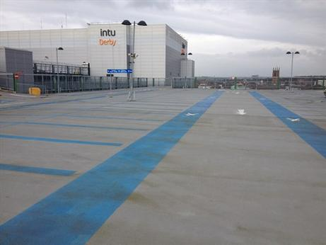 USL StructureCare renovates parking areas at intu Derby