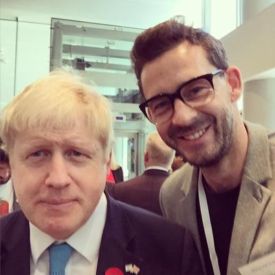 Boris and Dan go on tour together