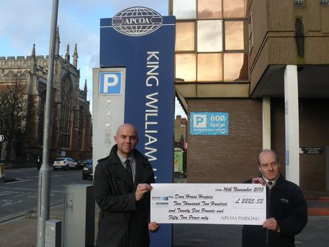 Free parking week raises £2.2k for Hull hospice