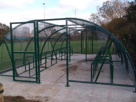 Cyclepods supply a large range of traditional racks and stands as well as shelters and compounds to suit your needs