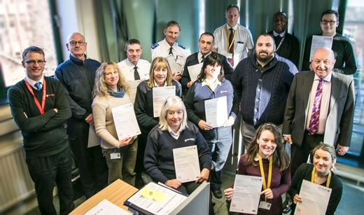 Winchester parking team completes conflict management training