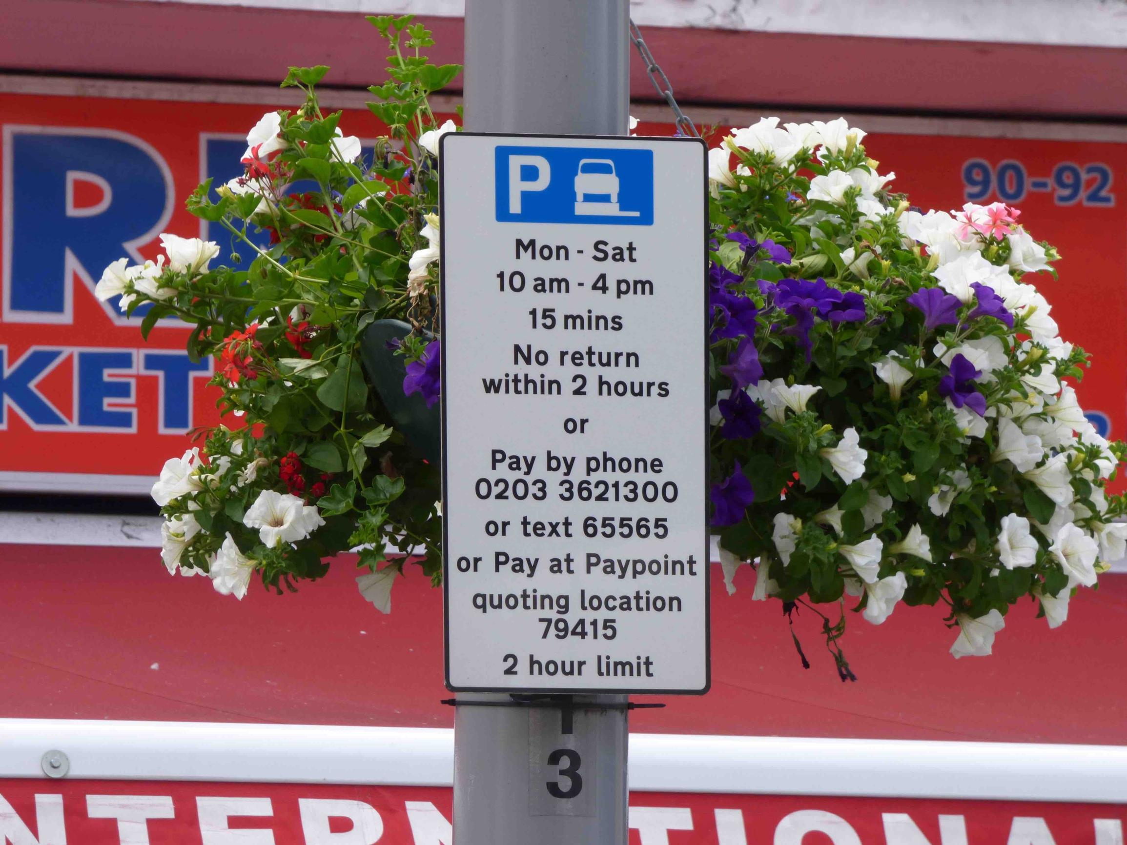 Free parking extension in Waltham Forest