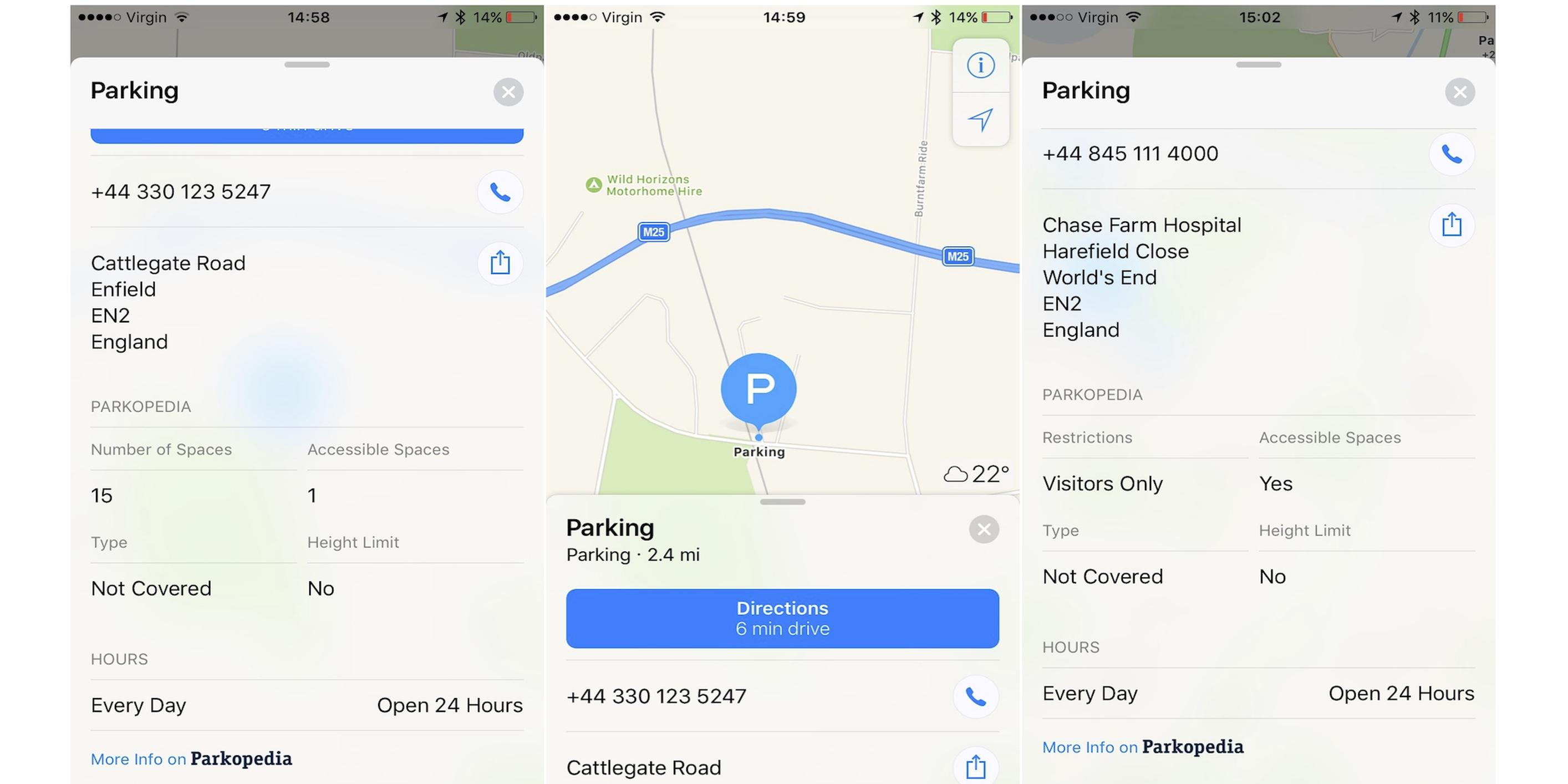 Parkopedia to provide parking services to Apple