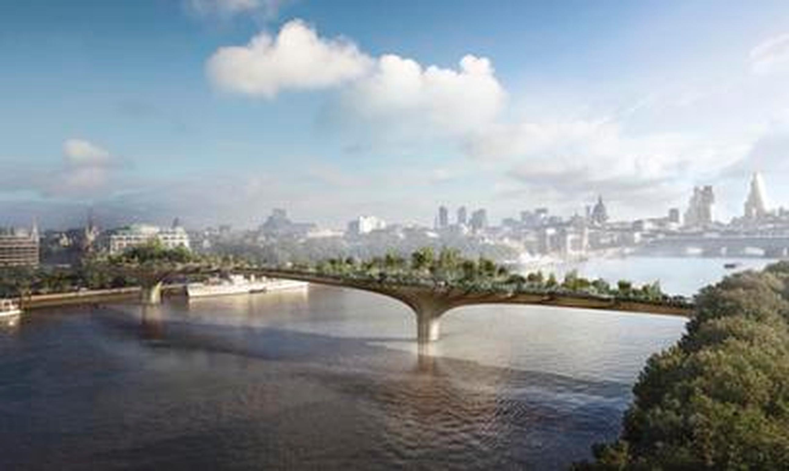 The Garden Bridge is one infrastructure project that the DfT was urged to review