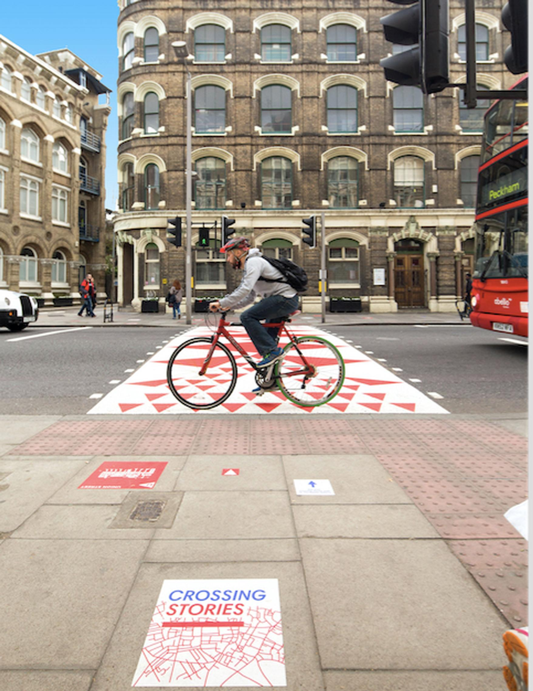 Better Bankside`s Colourful Crossings project