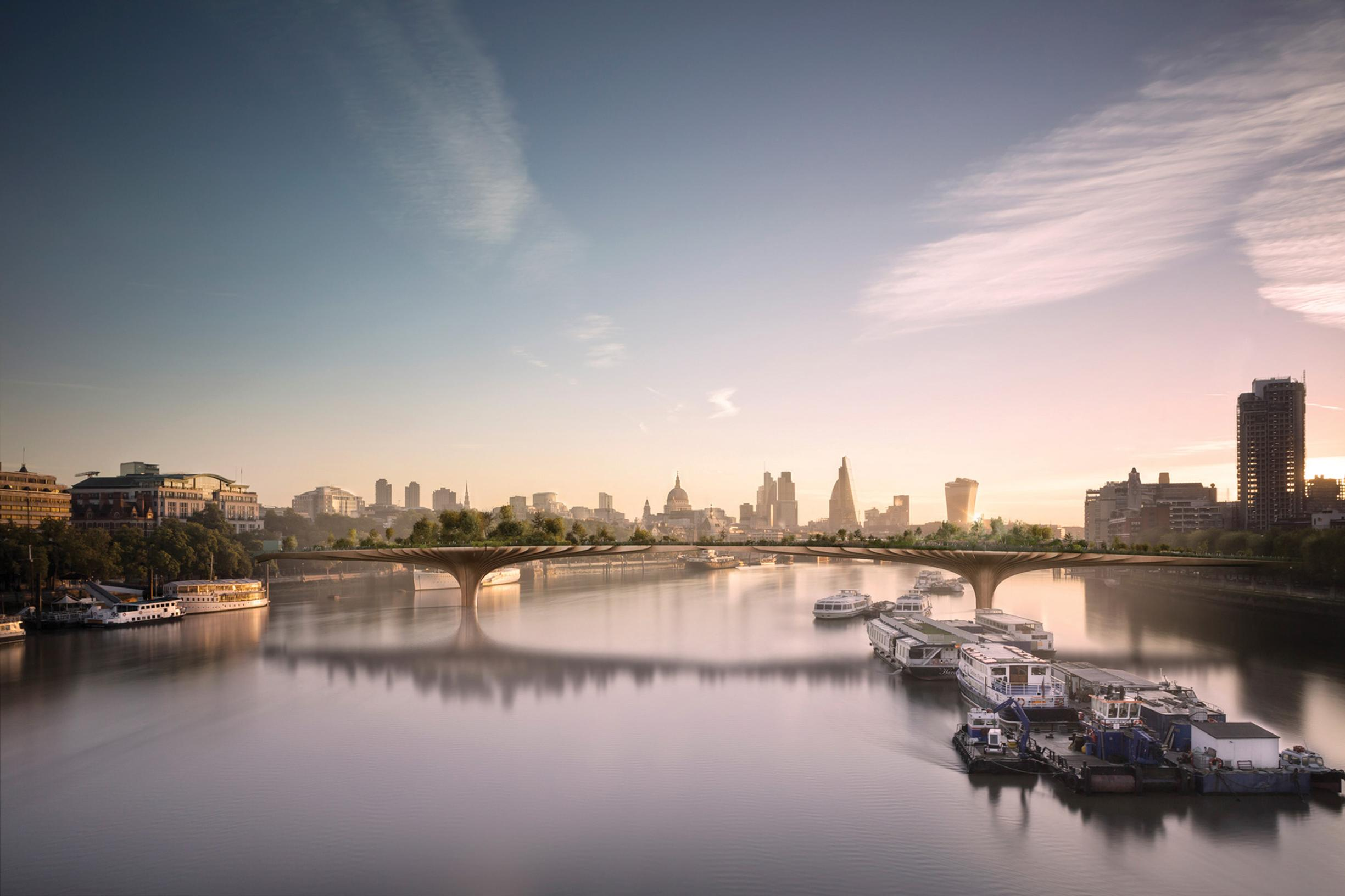 Don't pull the plug on capital's Garden Bridge, pleads charity