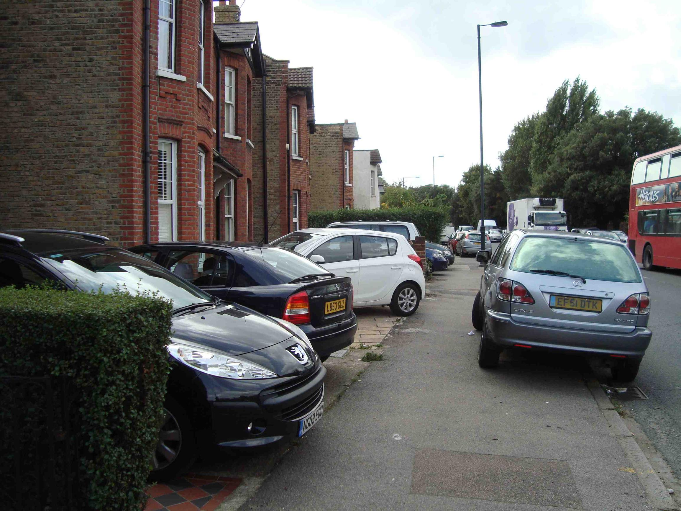 Parking on front gardens, with the need for crossovers and dropped kerbs reduces the amount and flexibility of parking space that is publicly available in the street.