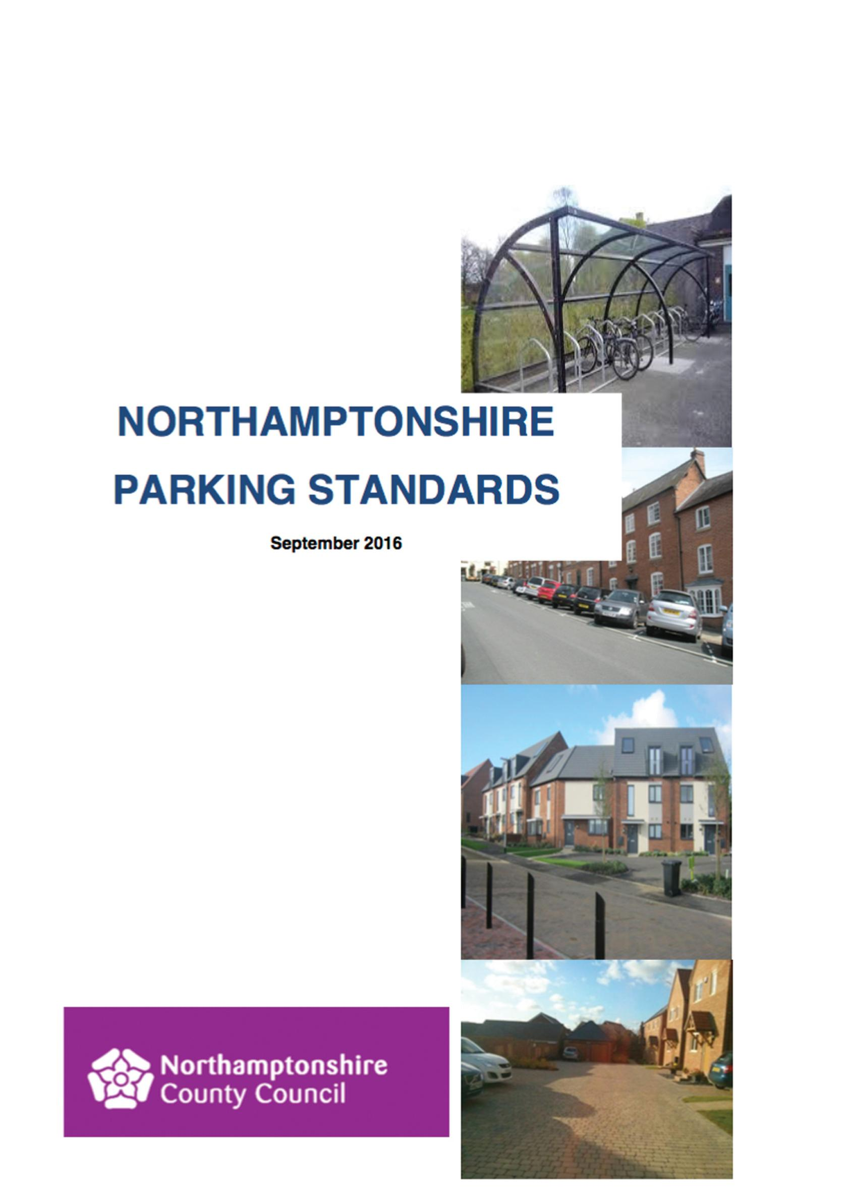 Provide more car parking with new housing, says Northants