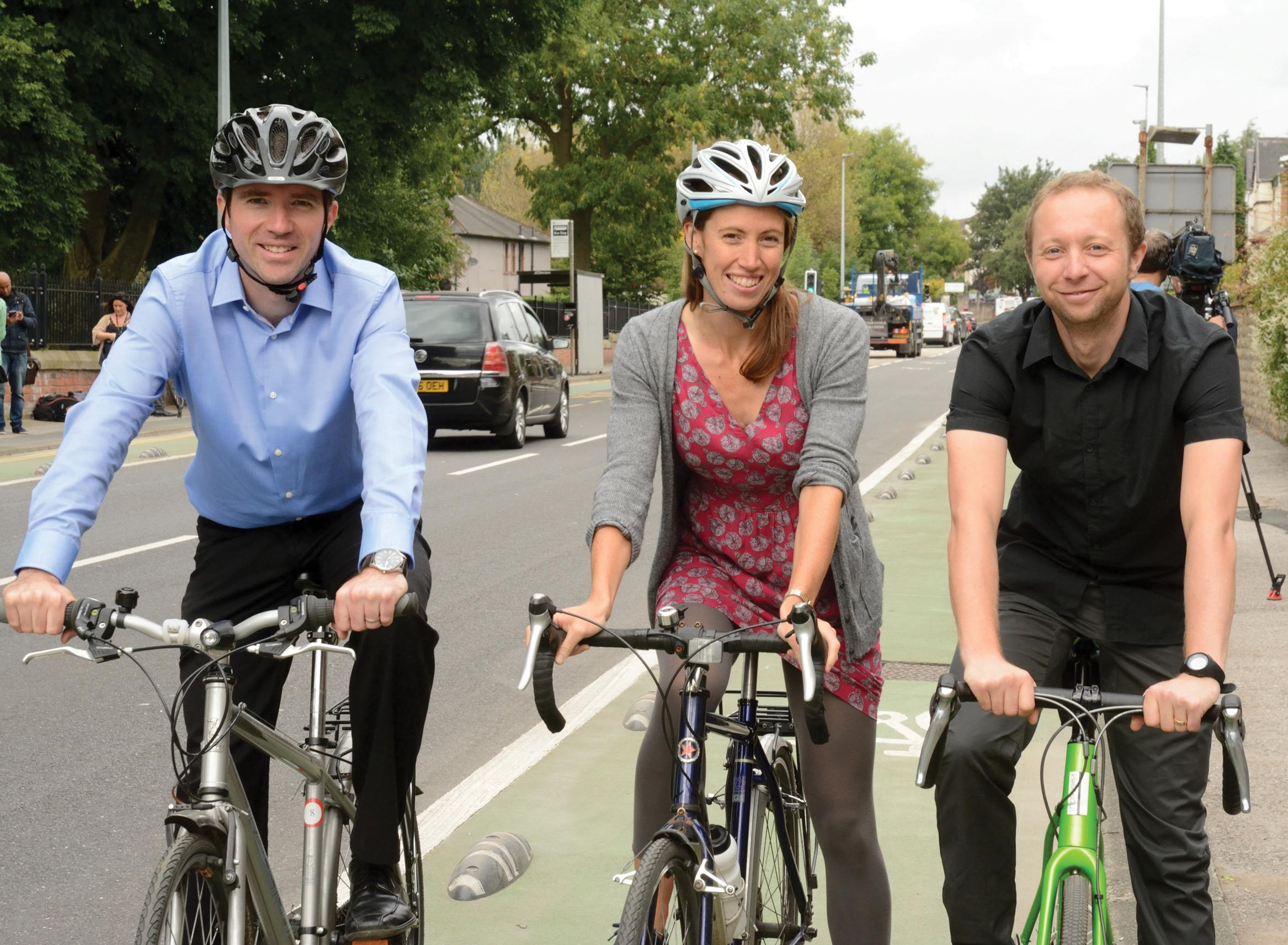 TfGM opens six new Cycleways