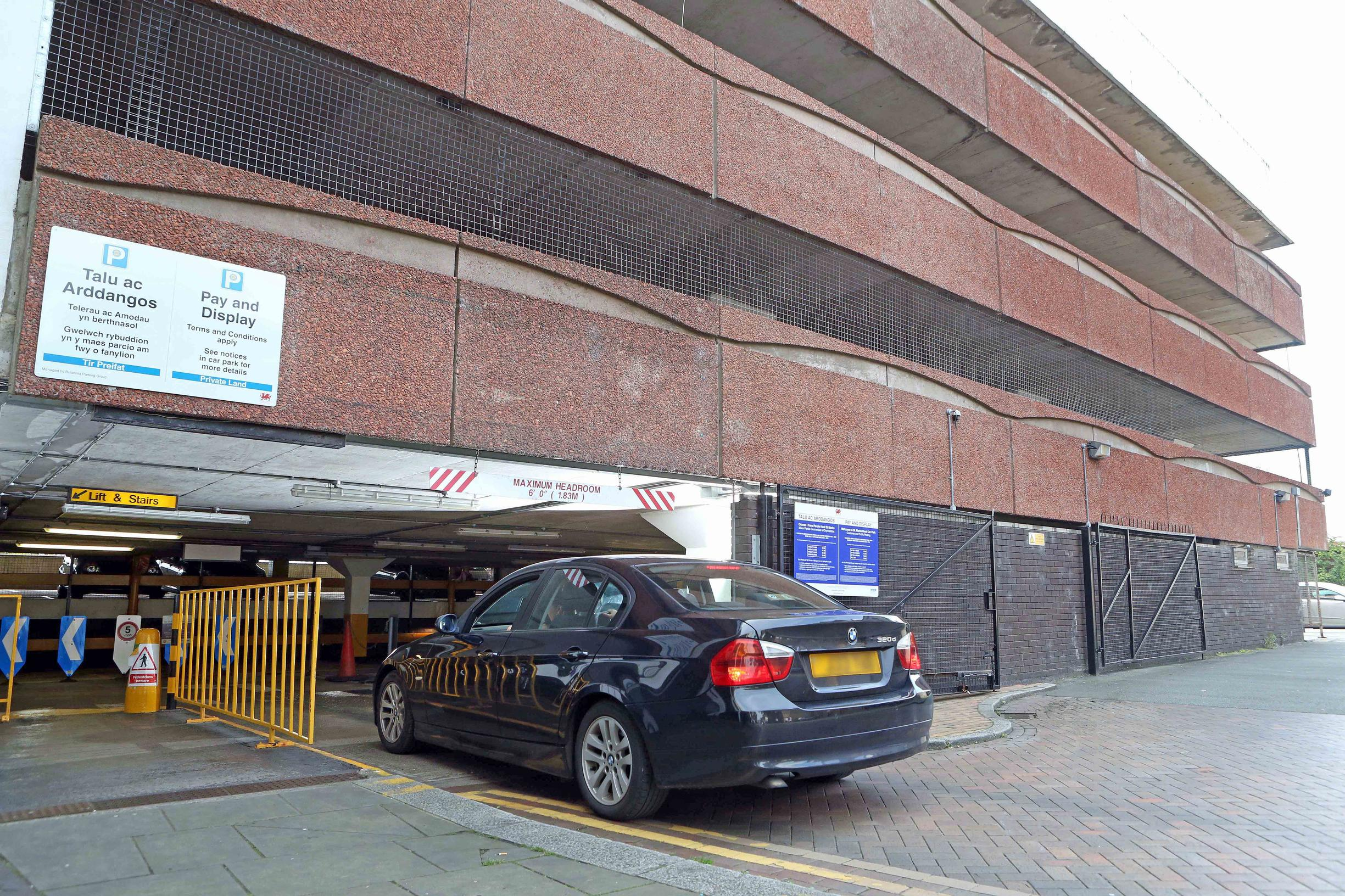 Britannia reopens closed Wrexham multi-storey
