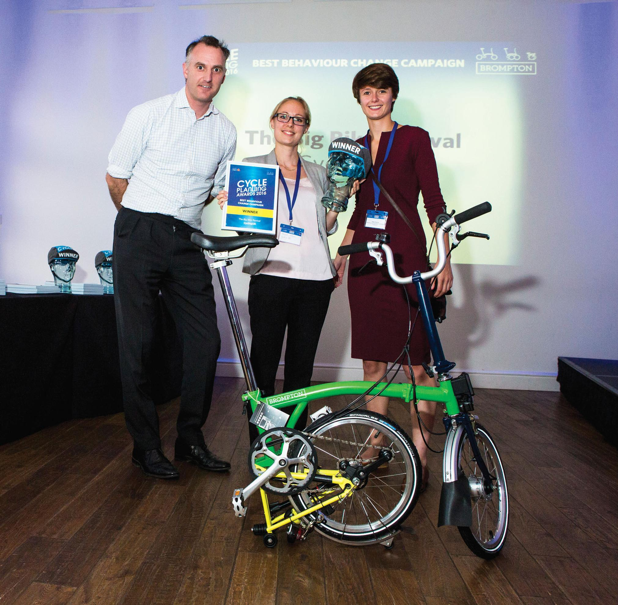 Cycle planning champions