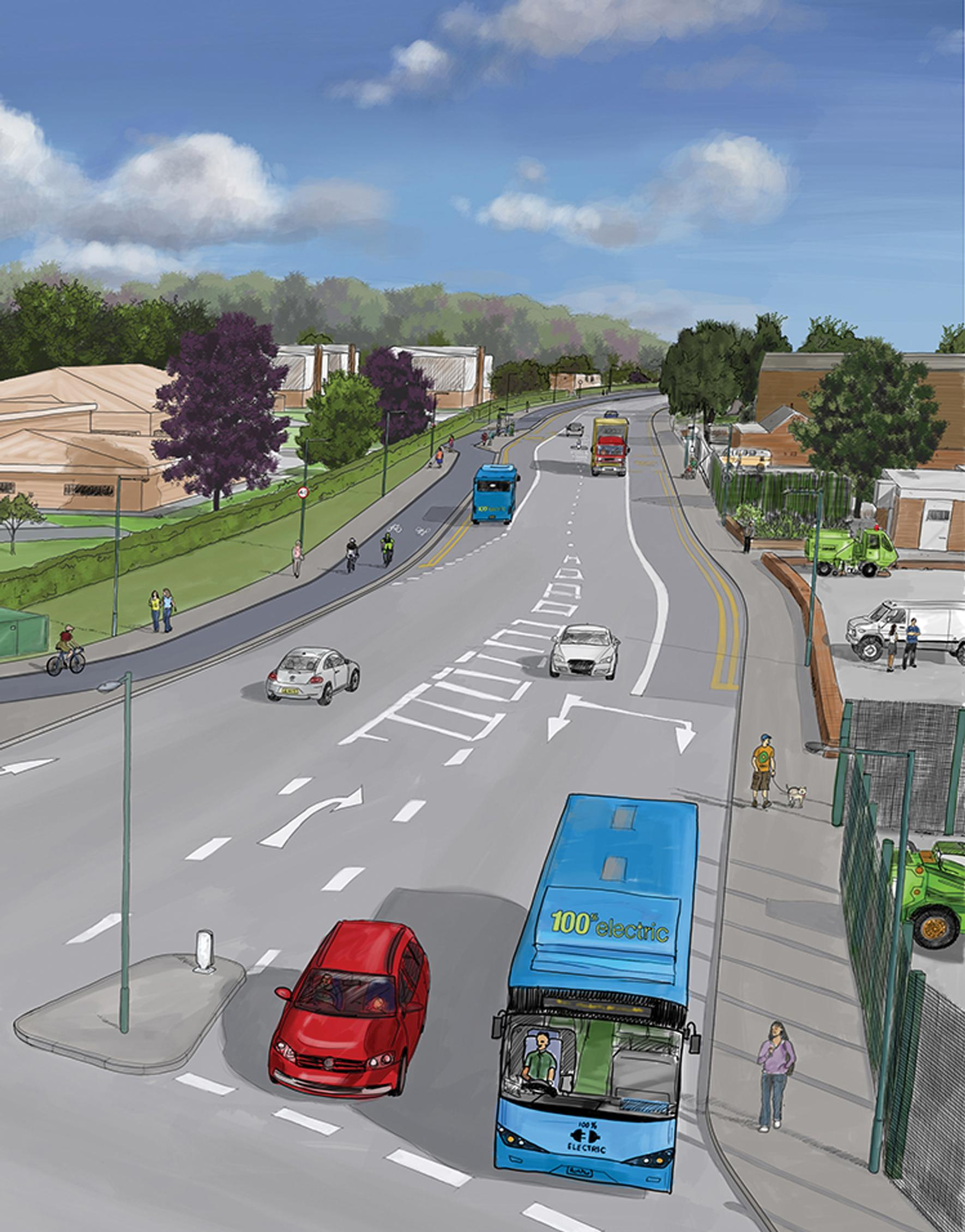 Nottingham to get bus and cycle friendly 'Eco Expressway'