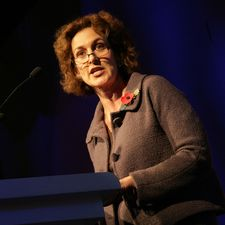 Gillian Merron at the UK Bus Awards 2006 last week. There is widespread confidence that the minister is building in respect of her grasp of her buses brief