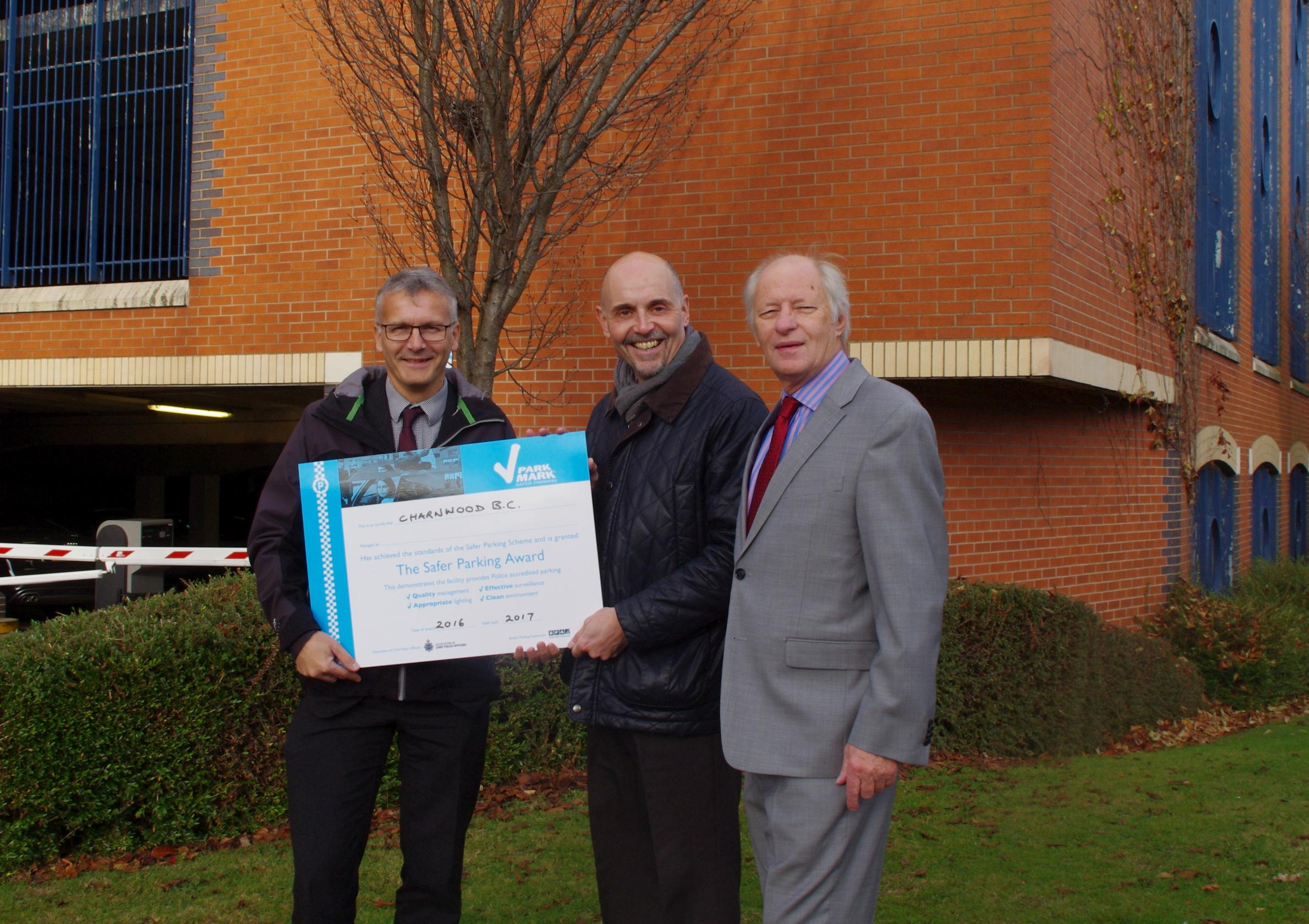 Charnwood Borough Council achieved Park Mark for Daventry car parks
