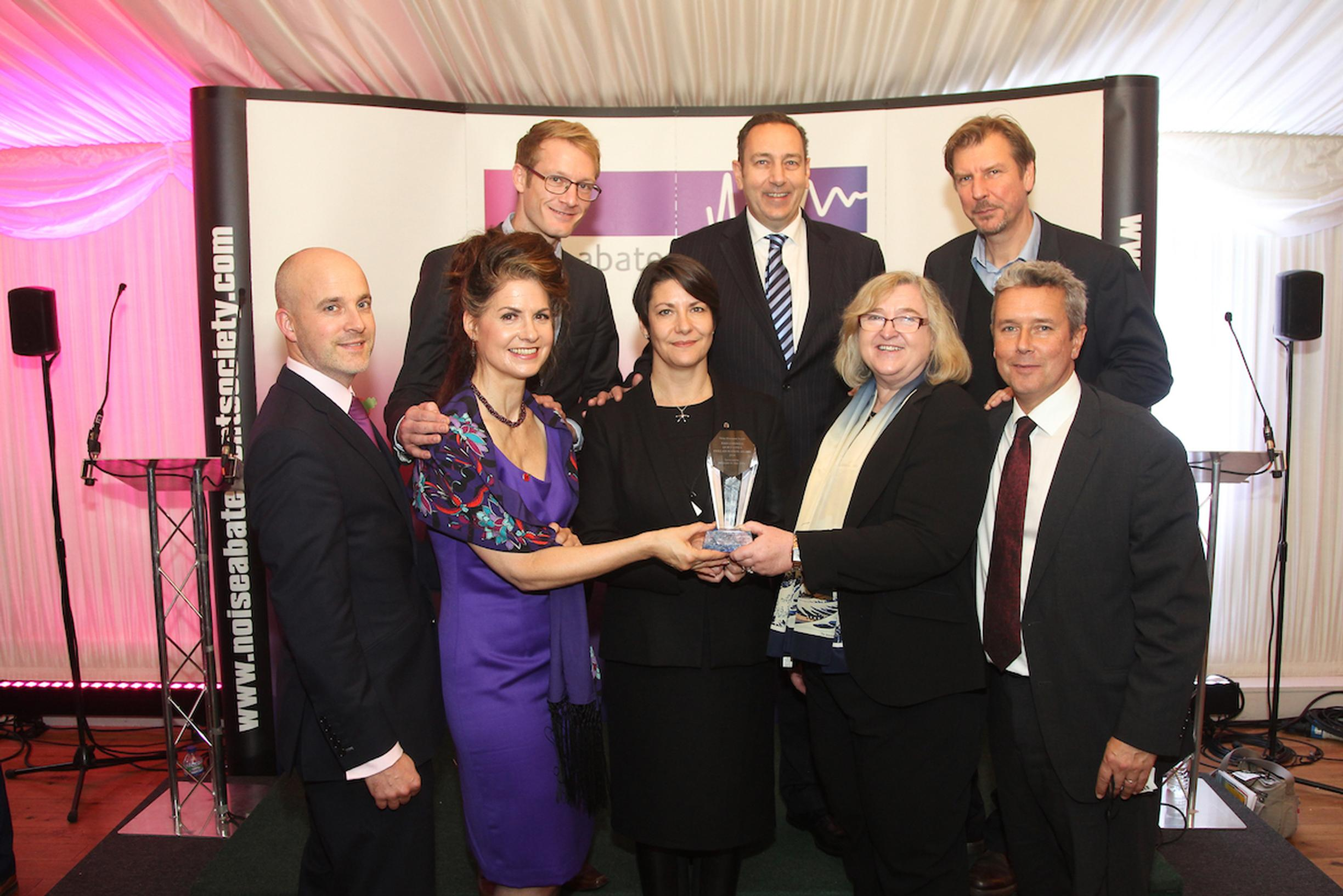 Big cheer for quieter deliveries at noise abatement awards