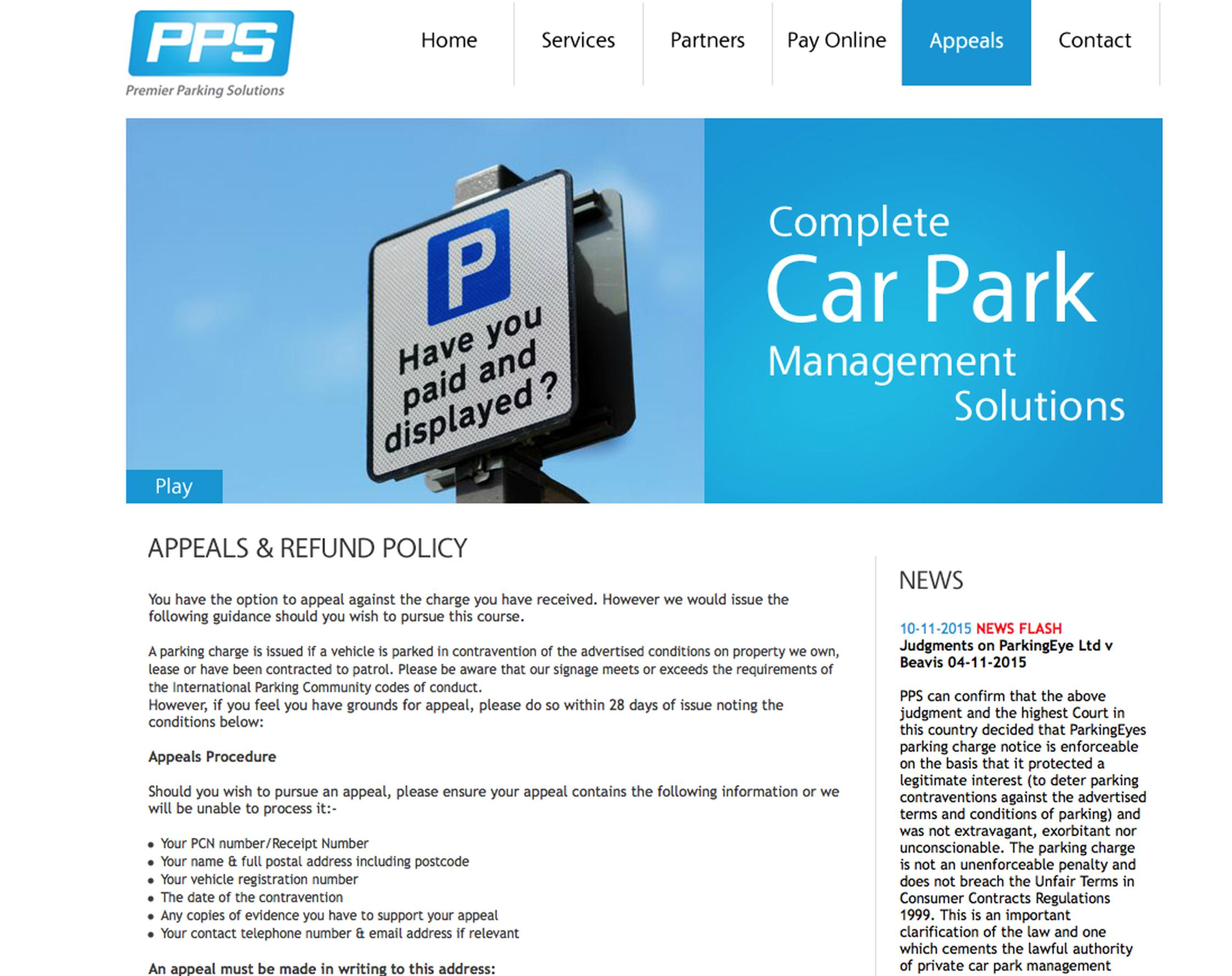 Premier stands by PCNs issued in Plymouth car park