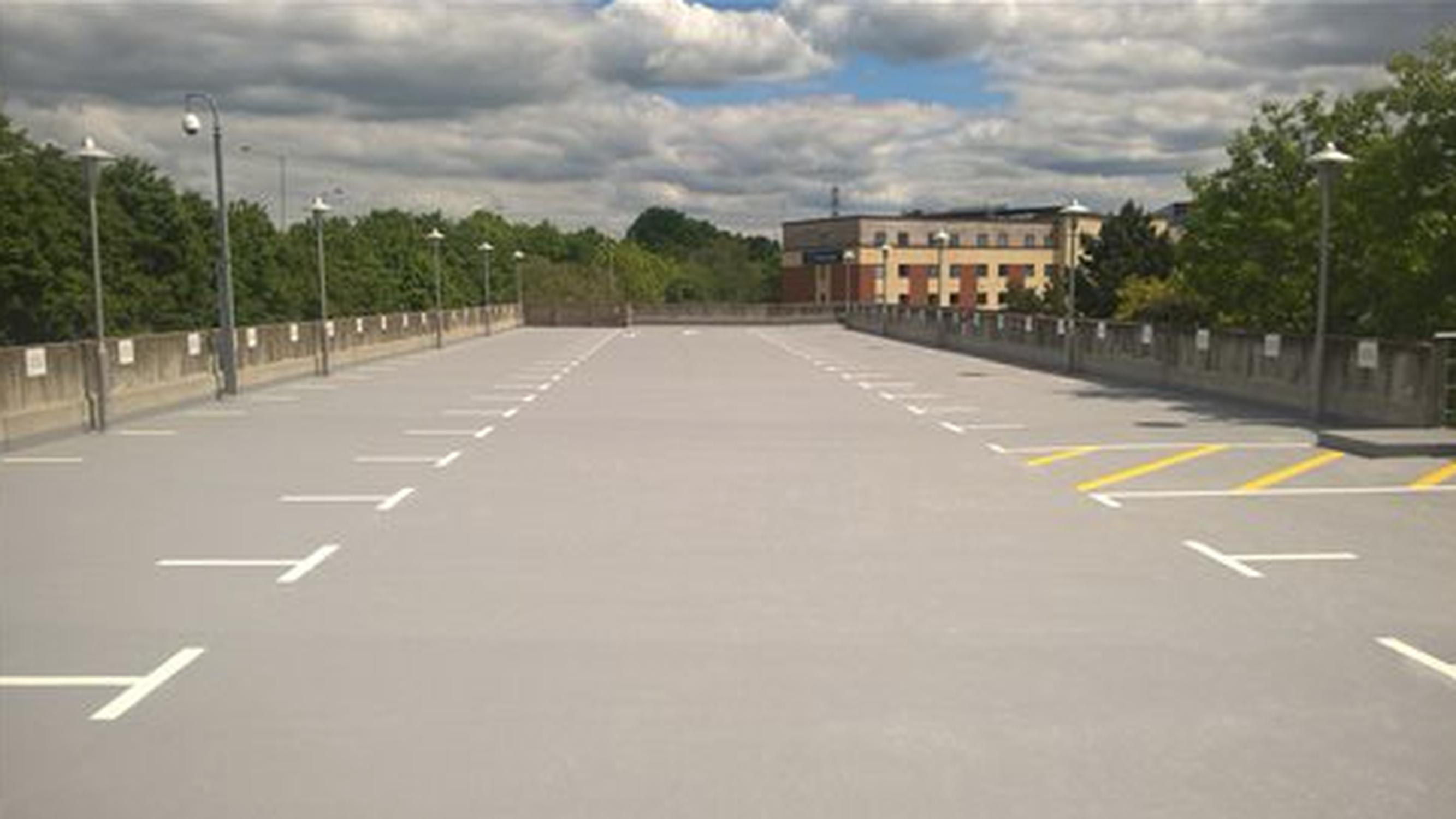 The car park at Berkshire Place
