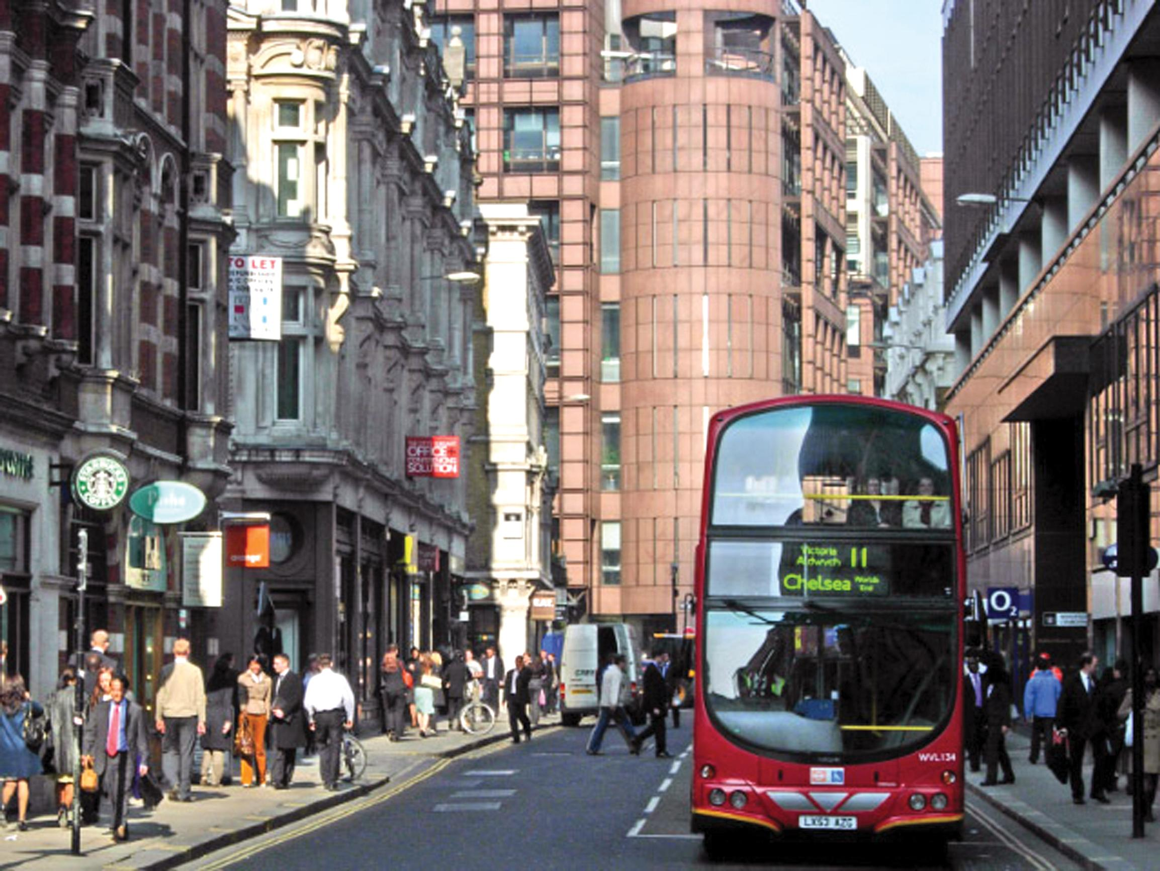 The City: too many buses