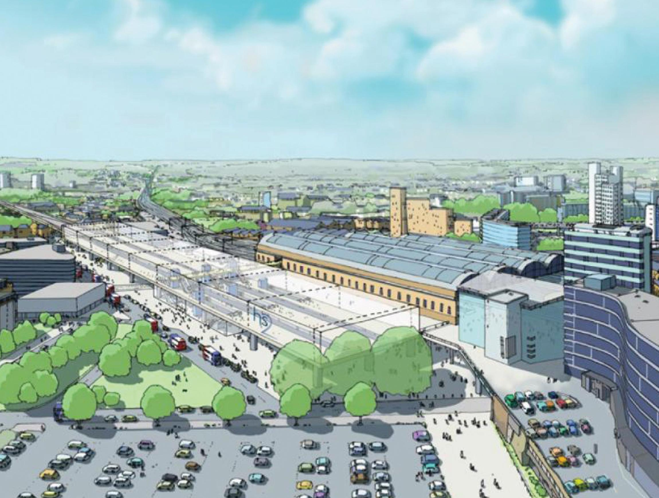 Manchester Piccadilly HS2 plan unacceptable