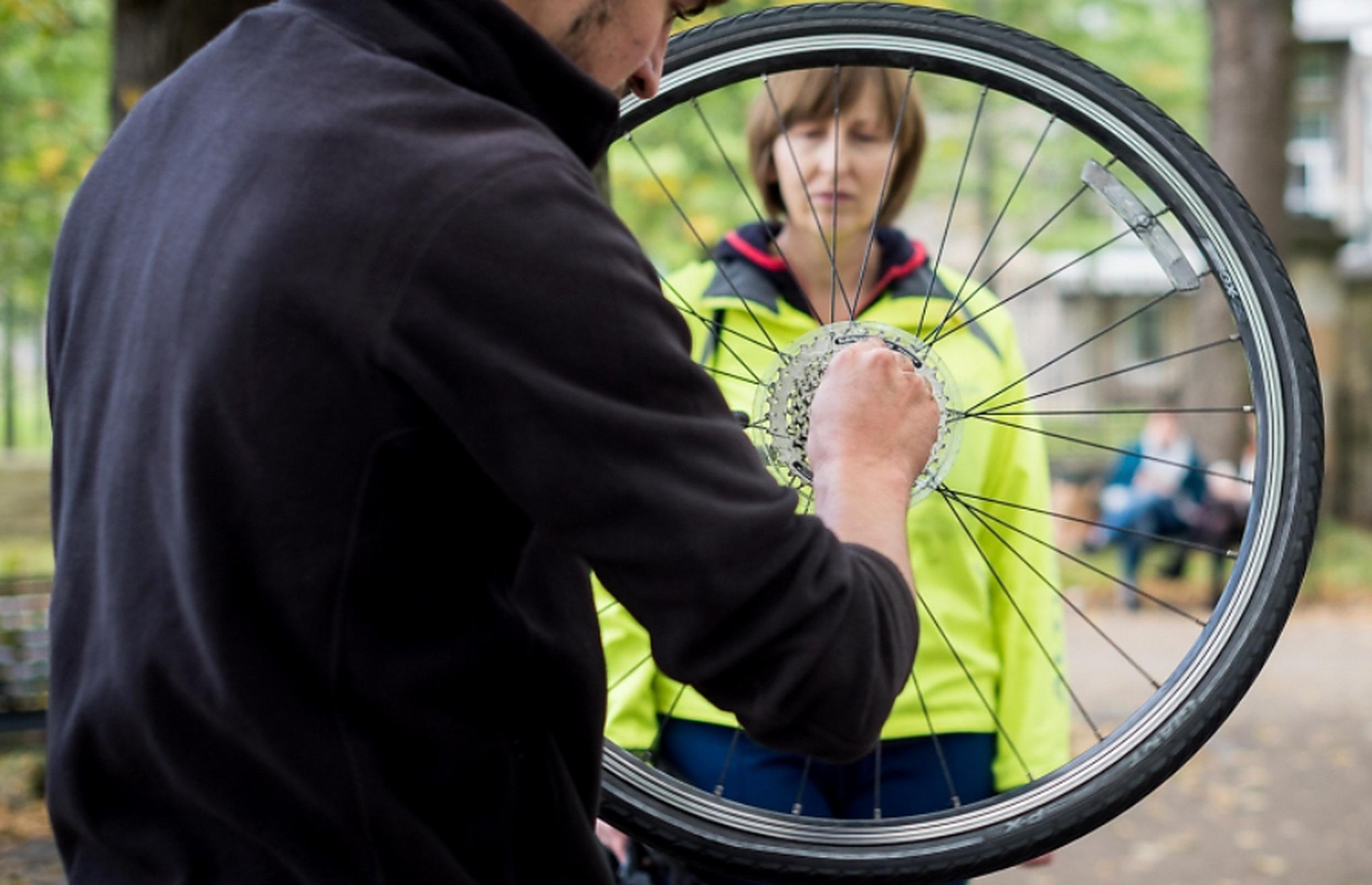 Bike rescue campaign aims to get people in the saddle
