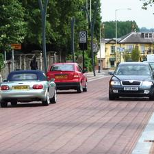 Part of the Ashford Ring Road project – it has got kerbs, but are they big enough?