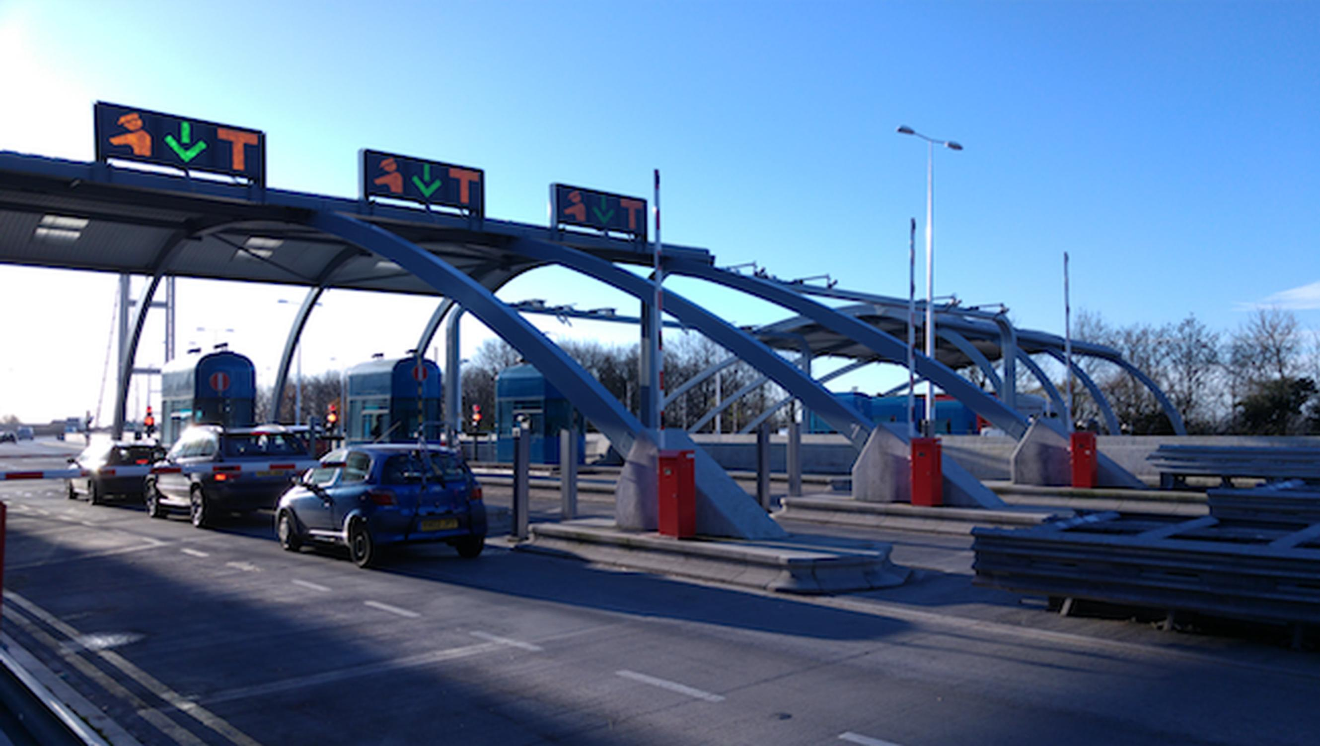 Humber Crossing toll plaza (SICE UK)
