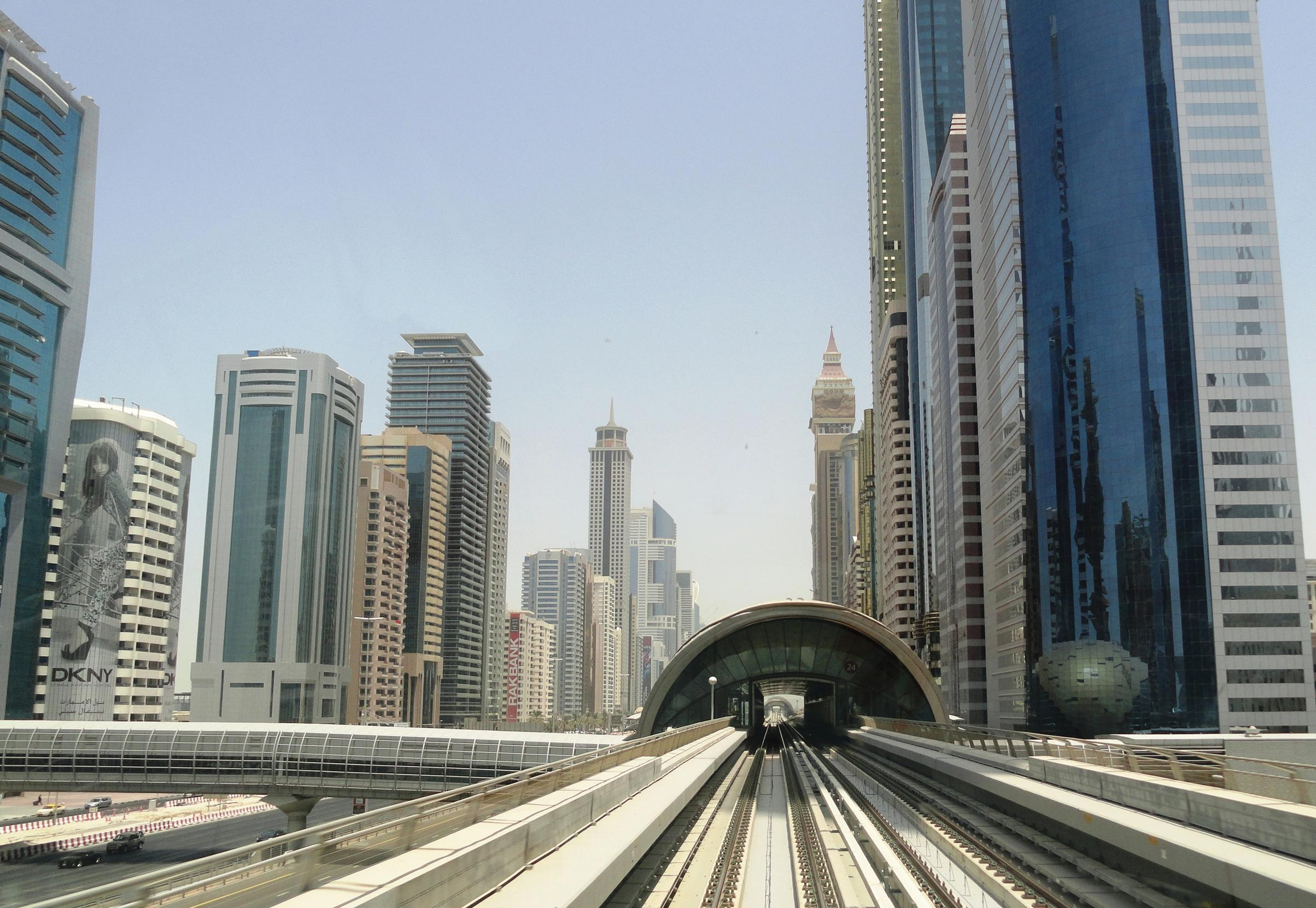 New modes are becoming popular in cities like Dubai and need to be acounted for in the modelling mix. Image courtesy: Fabio Achilli– Dubai Metro, Sheikh Zayed Road, Dubai