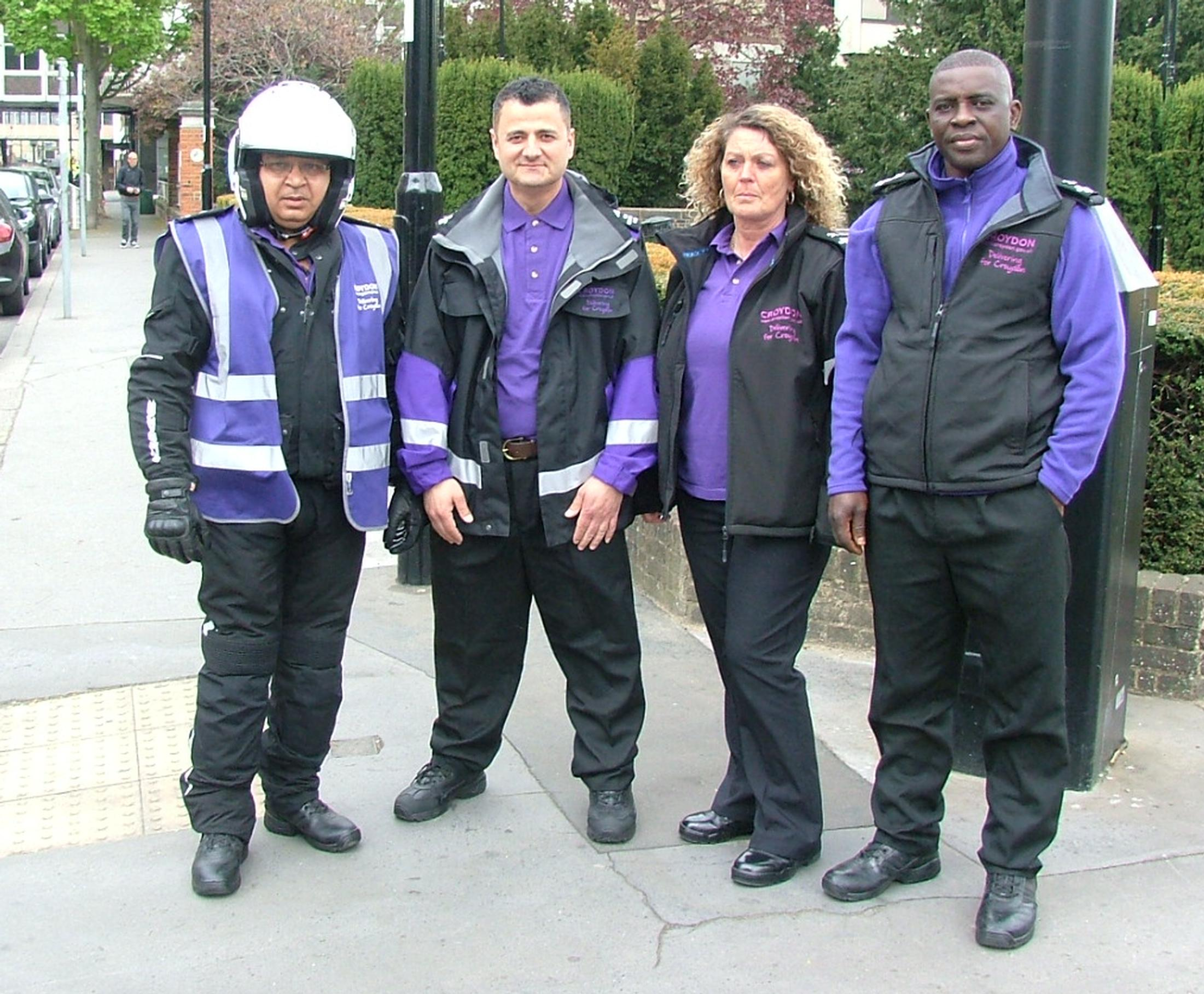 Croydon parking patrols are sporting a new look