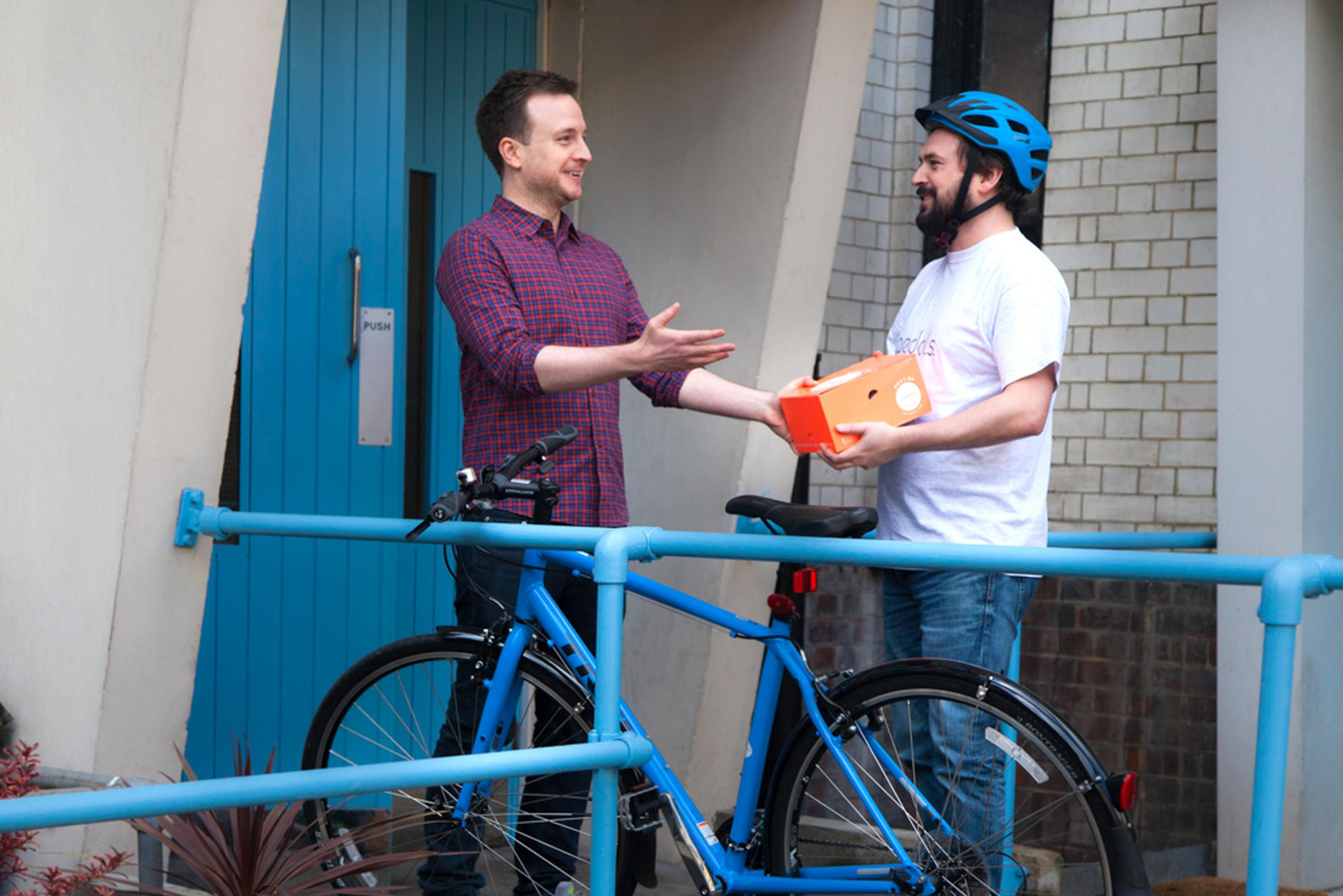 By using the Pedals app, commuters can earn extra cash by making deliveries during their ride to work