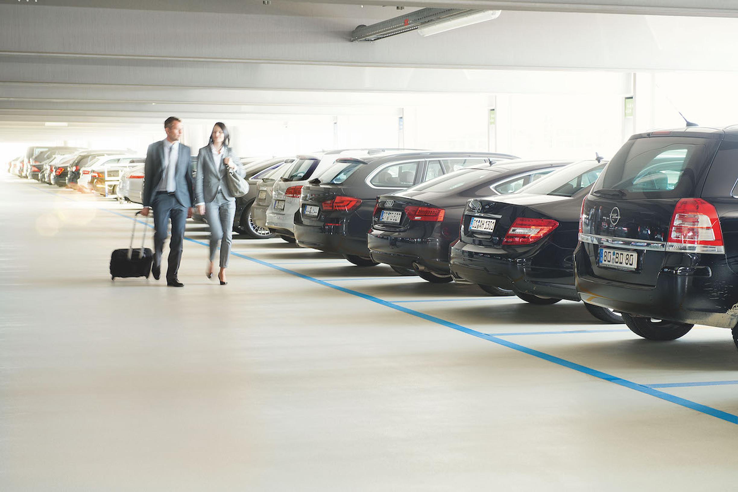 APCOA to share parking data with INRIX